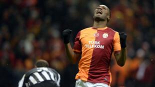 Didier Drogba qualifié pour les 8e de finale de la Ligue des champions
