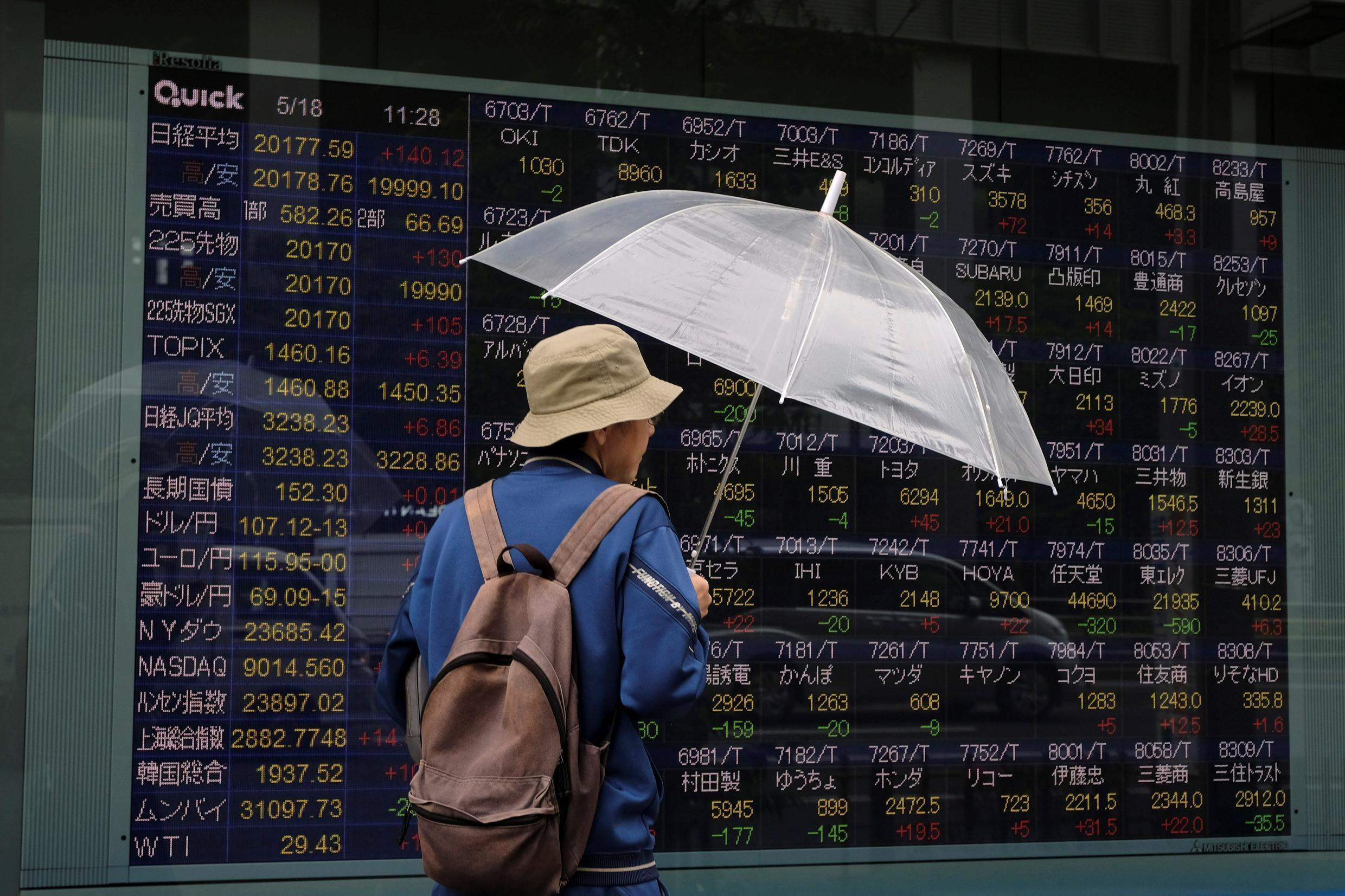 Japan dived into its first recession since 2015 as the world's third-largest economy wrestled with the fallout from the coronavirus pandemic