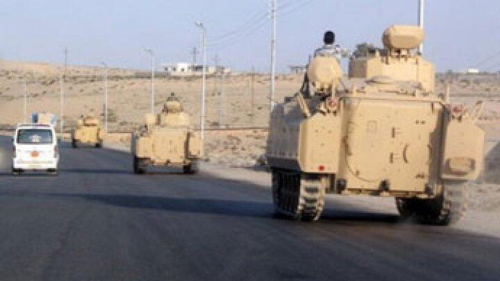 آليات للجيش المصري