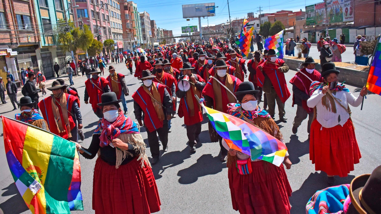Bolivia: Central Obrera anunció pausa en las protestas pero grupos  indígenas seguirán con bloqueos