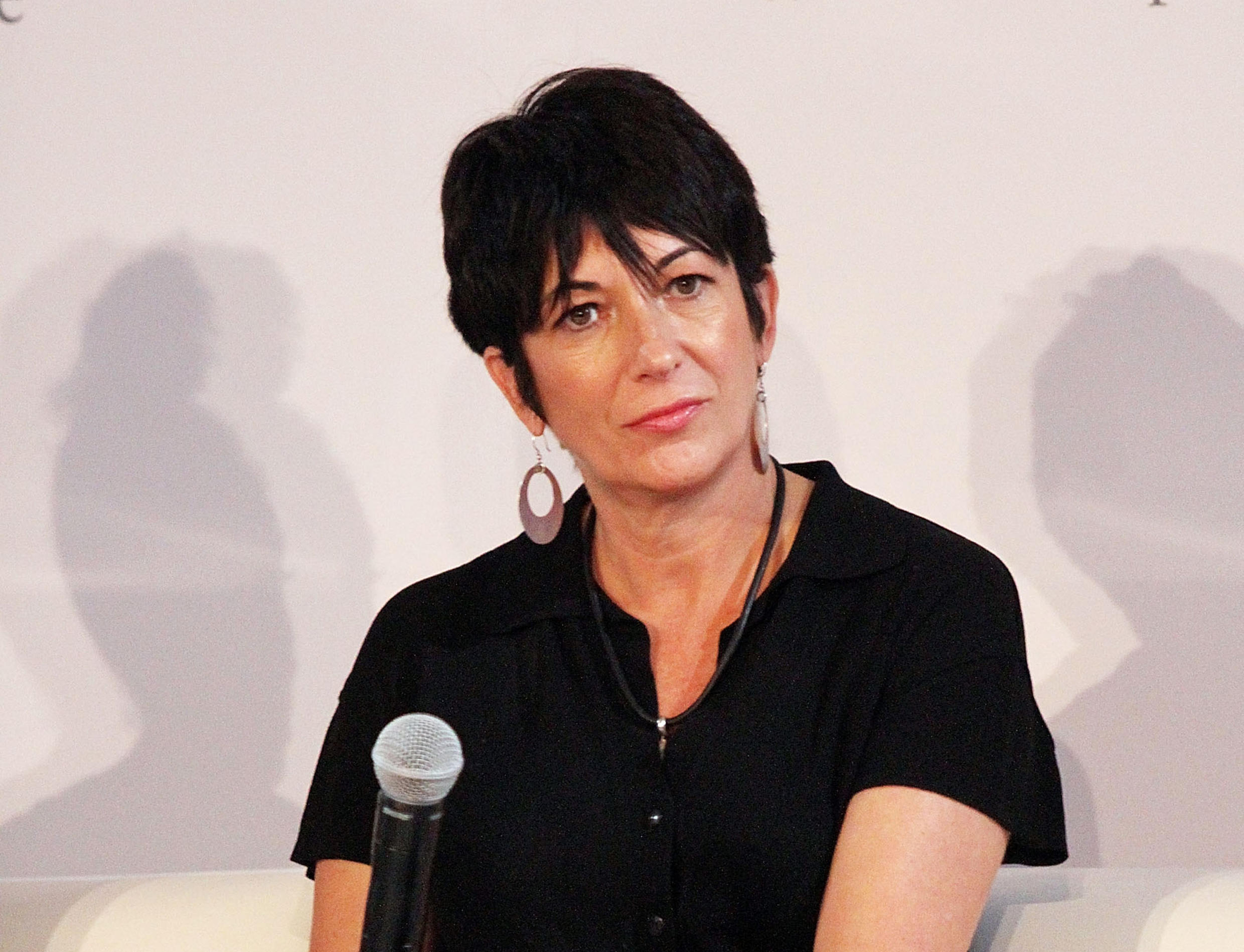 Ghislaine Maxwell at a symposium in New York City, on September 20, 2013.