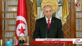 حبيب الجملي رئيس الحكومة المكلف بتشكيل الحكومة بتونس