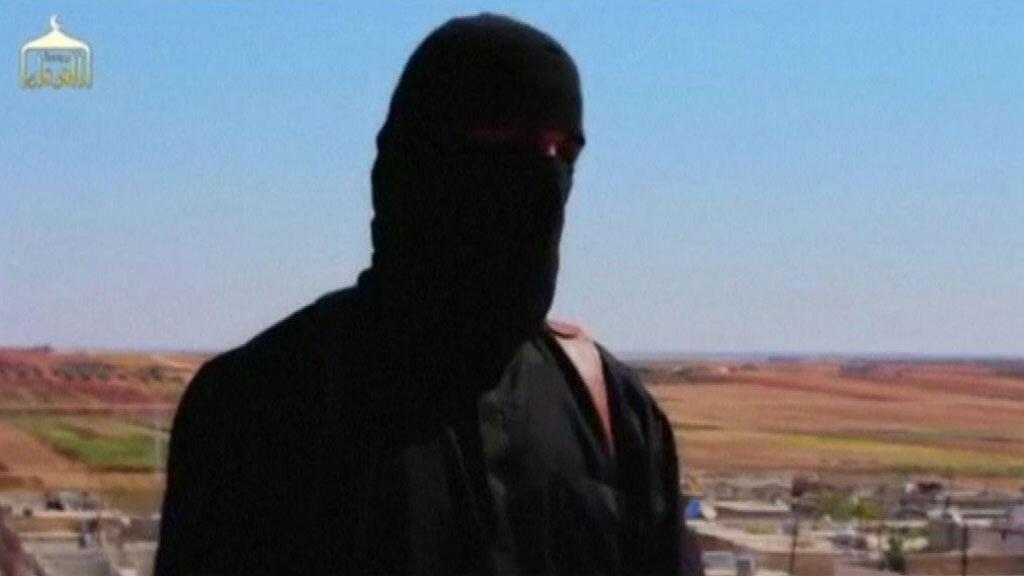 """""""جون"""" كما يظهر في فيديو دعائي لتنظيم """"الدولة الإسلامية"""""""