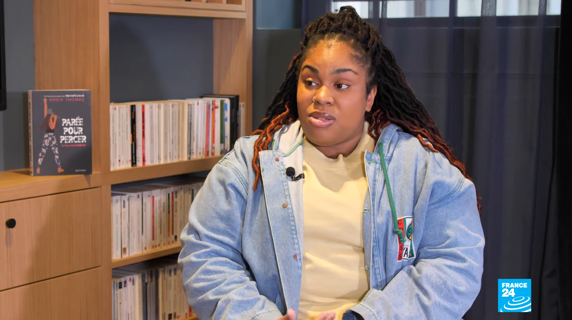 Author Angie Thomas speaks to Encore's Eve Jackson about how hip-hop is an art form, March 17 2020.