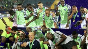 نيجيريا فازت بالمركز الثالث للمرة الثامنة في تاريخها. 17 يوليو 2019.