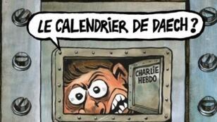غلاف شارلي إيبدو في الذكرى الثالثة للاعتداء على مقرها
