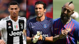 Cristiano Ronaldo à la Juve, Buffon au PSG et Vidal au FC Barcelone