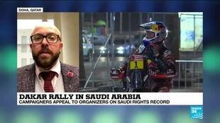 2020-01-05 13:11 Dakar Rally in Saudi Arabia: Campaigners appeal to organizers on Saudi rights record
