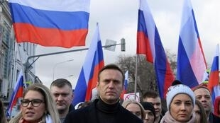 Navalny fell ill after boarding a plane in Siberia last month.