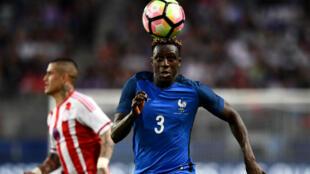 Le défenseur français Benjamin Mendy, lors du match France Paraguay, 2 juin 2017, à Rennes.