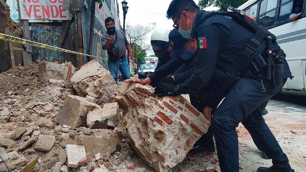 Un puissant séisme fait plusieurs morts au Mexique