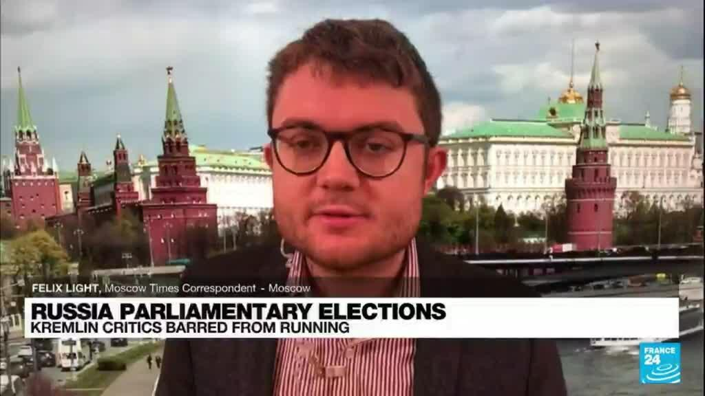 2021-09-17 08:04 Russia parliamentary elections: Putin urges Russians to vote after critics barred from election