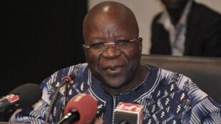 Le ministre burkinabè de l'Intérieur, Simon Compaoré, le 30 juin 2016, à Ouagadougou.