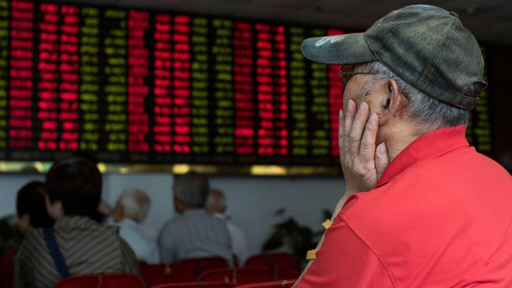 La Bourse de Shanghai multiplie les pertes depuis fin juin.