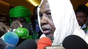 L'imam Mahmoud Dicko est à la tête de la coalition du M5.