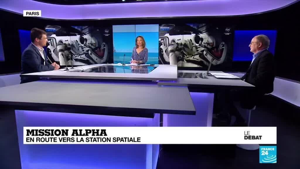 2021-04-23 19:09 LE DÉBAT - MISSION ALPHA : EN ROUTE VERS LA STATION SPATIALE