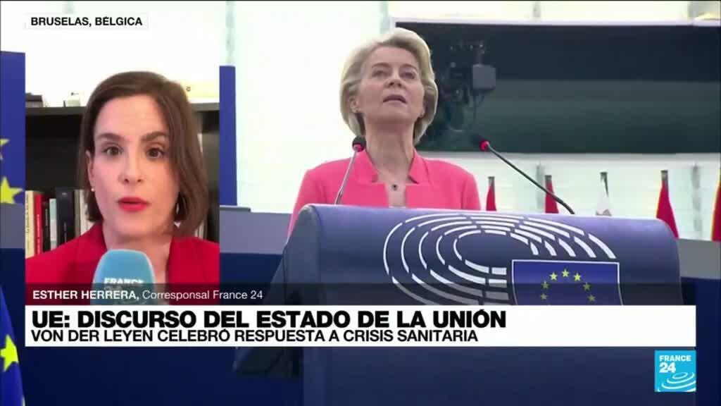 2021-09-15 13:02 Informe desde Bruselas: Ursula von der Leyen detalla su agenda para la UE