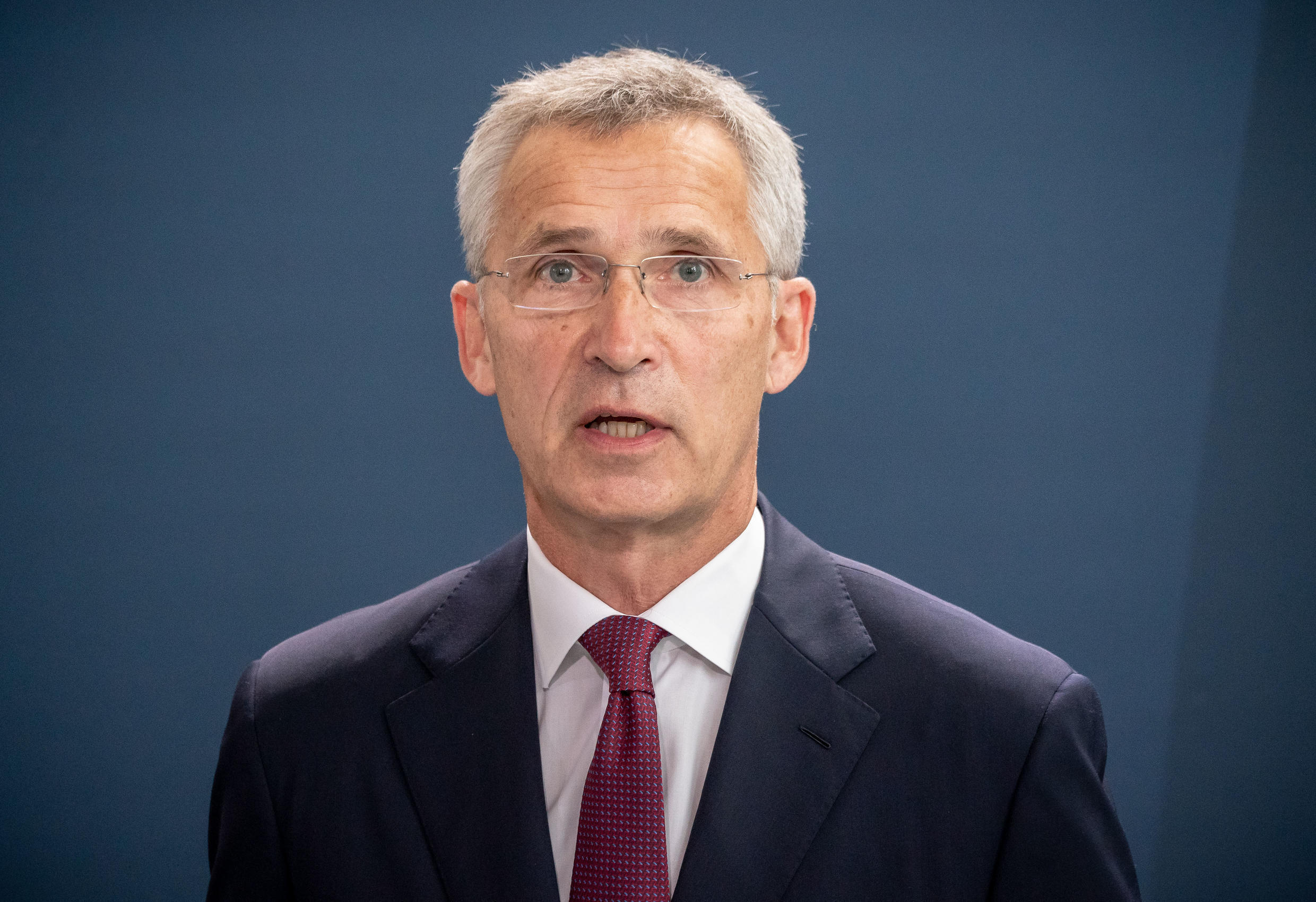 NATO Secretary General Jens Stoltenberg (pictured in August 2020) called on Russia to cooperate in an international investigation into Russian opposition leader Navalny's poisoning on Sept. 4, 2020.