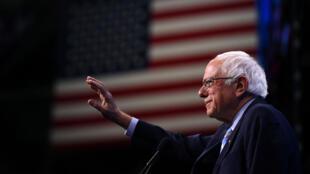 Bernie Sanders en campagne dans le New Hampshire, le 7septembre2019.