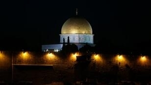 مسجد قبة الصخرة في مجمع الأقصى في القدس في 3 تشرين الأول/أكتوبر 2016