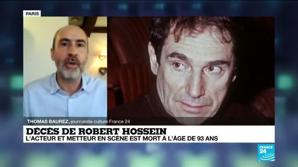 """2020-12-31 15:08 Mort de Robert Hossein :  """"Du théâtre comme vous n'en verrez qu'au cinéma"""""""