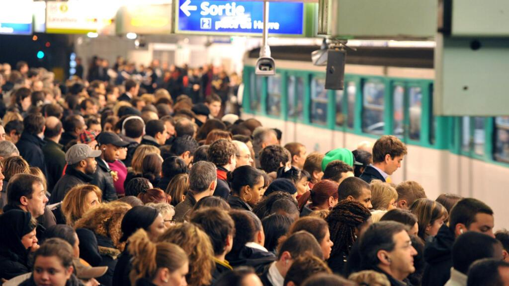 Image result for Paris braces for massive metro strike over pension reform