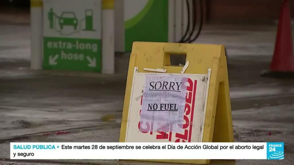 2021-09-28 14:38 Escasez de gasolina en Reino Unido por compras de pánico y falta de transportistas