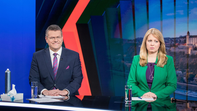 Caputova y Sefcovic disputarán segunda vuelta presidencial en Eslovaquia