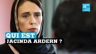 Capture d'écran France 24 (Jacinda Ardern)