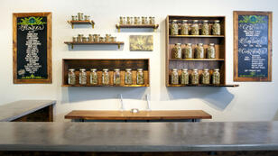 Une pharmacie à cannabis à Portland, Oregon.