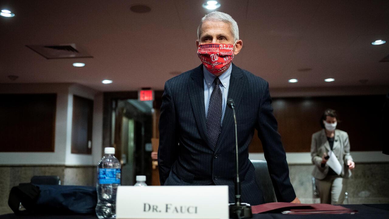 كبير خبراء الأمراض المعدية في الولايات المتحدة أنطوني فاوتشي في واشنطن، في 30 يونيو/حزيران 2020.
