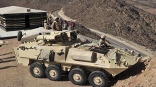 الجيش السعودي على الحدود السعودية اليمنية - 21 أبريل/نيسان 2015.