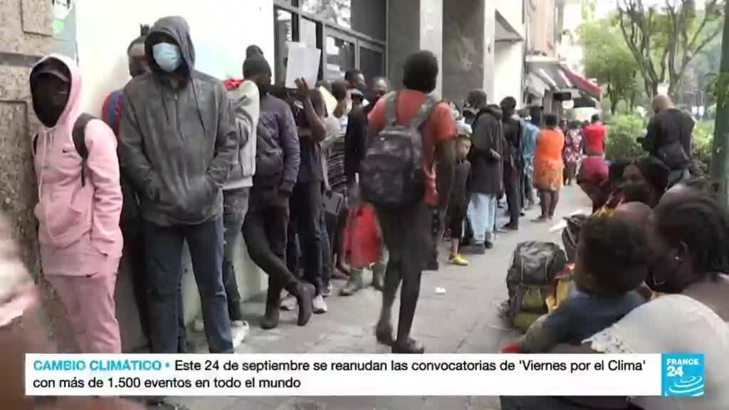 2021-09-24 14:08 Haitianos buscan asilo en México ante la imposibilidad de ingresar a Estados Unidos