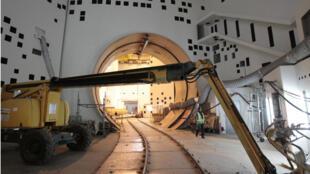 L'EPR de Flamanville dans la Manche, au moment de sa construction, le 6 novembre 2014.