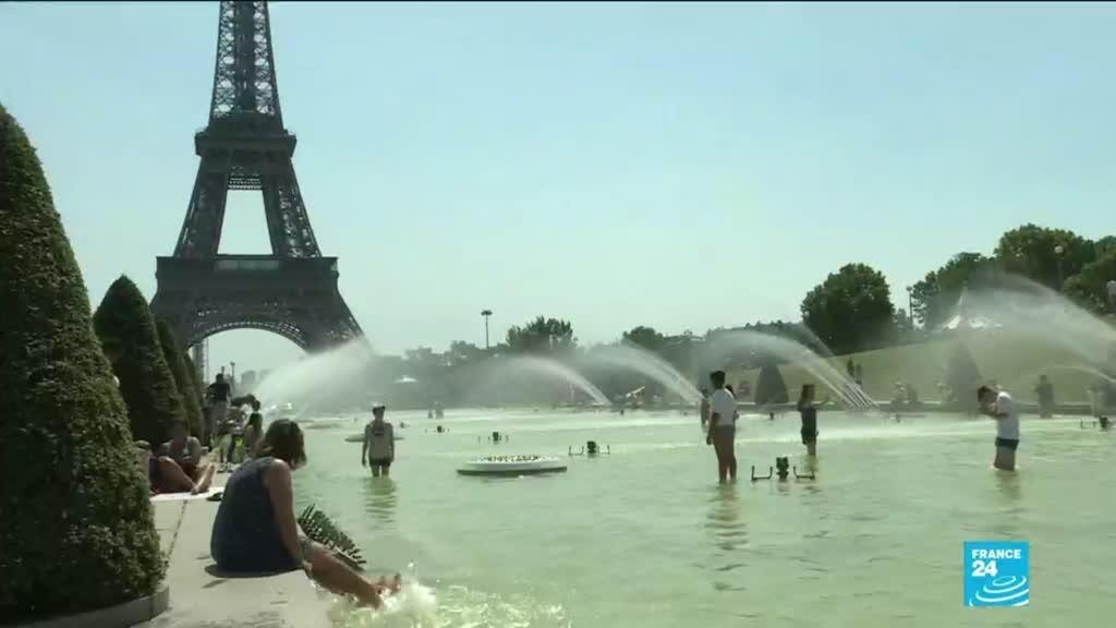 Heat wave in France: overwhelming heat and temperatures over