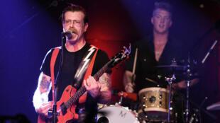Une photo du groupe Eagles of Death Metal sur scène, aux États-Unis, le 19 octobre 2015.