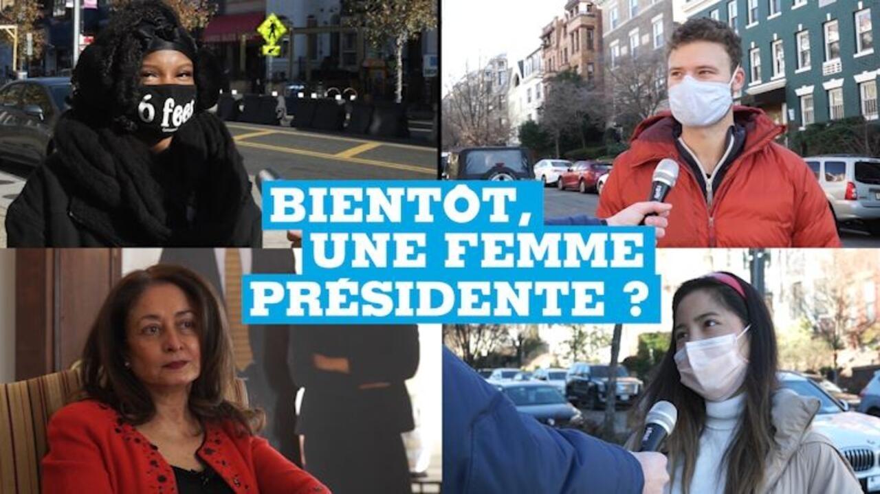 Kamala Harris investie : bientôt, une femme présidente ?
