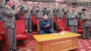 رئيس كوريا الشمالية كيم جونغ-أون