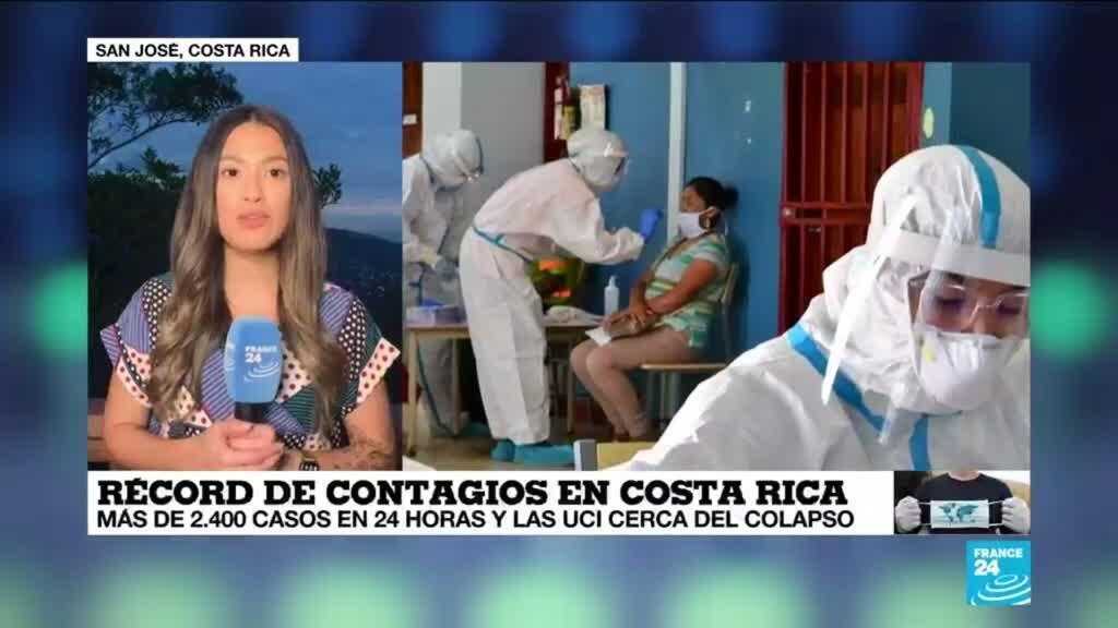 2021-04-29 14:36 Informe desde San José: Costa Rica registró más de 2.400 casos nuevos de Covid-19
