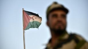 Diplomatic efforts to end the conflict between the Polisario Front (flag and soldier pictured October 2017) and Morocco for control of the Western Sahara have been deadlocked since 2008