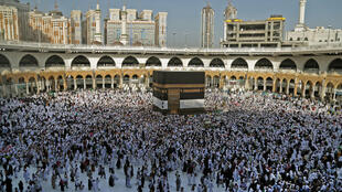 "Last year around 2.5 million faithful travelled to Saudi Arabia from across the world to take part in the ""hajj"", which all Muslims must perform at least once in their lives if able"