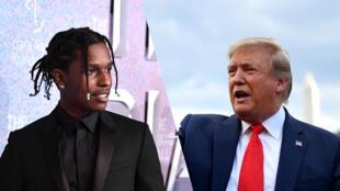 A$AP Rocky lors d'un concert à LasVegas, le 19mai2019.