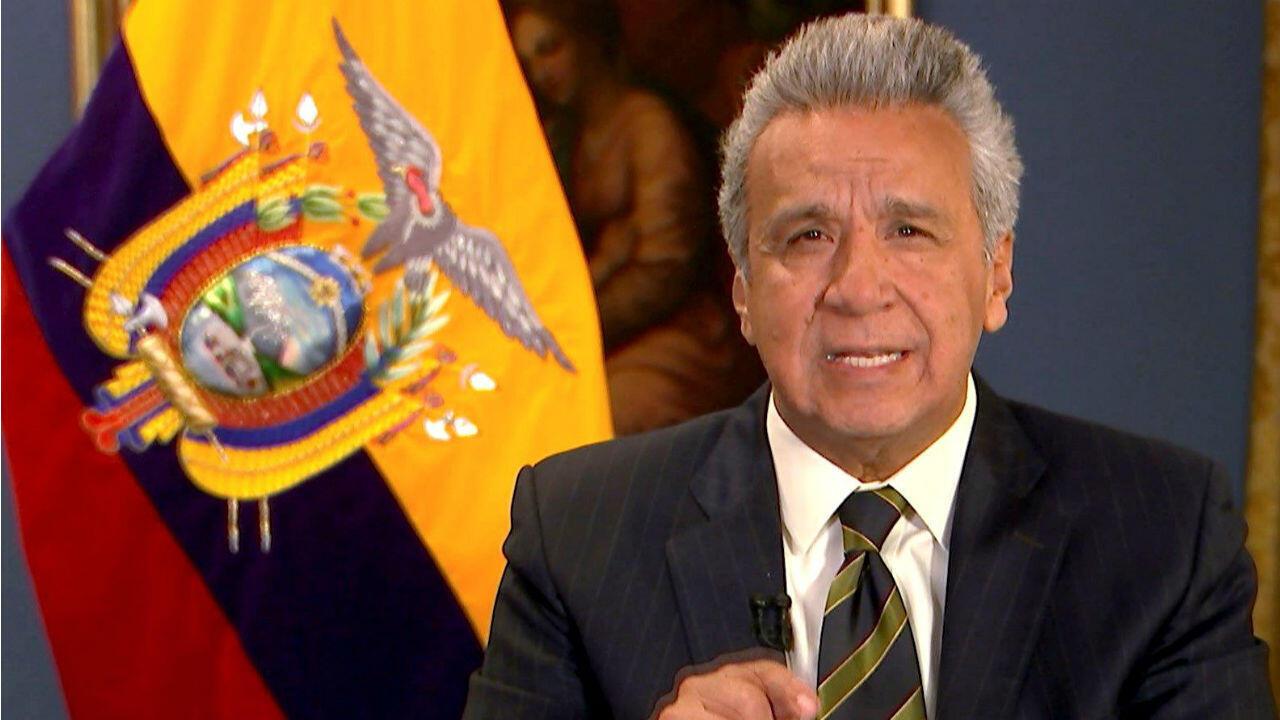 El presidente de Ecuador, Lenín Moreno. Archivo.