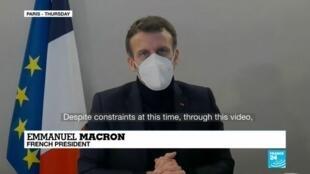 2020-12-18 09:08 Coronavirus pandemic: Virus-stricken Macron at presidential retreat with fever