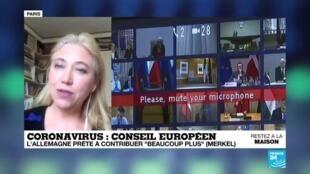 2020-04-23 14:04 Covid-19 en Europe : Les 27 vont-ils s'entendre sur un plan de relance ?