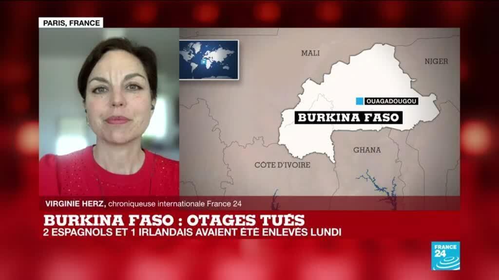 """2021-04-27 14:05 Au Burkina Faso, une """"spirale de la violence"""" ces dernières années"""