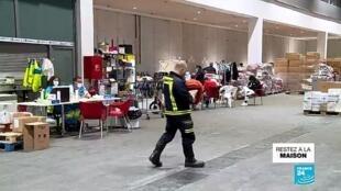 2020-04-30 16:06 Covid-19 : en Espagne, l'hôpital de campagne de Madrid se vide professivement