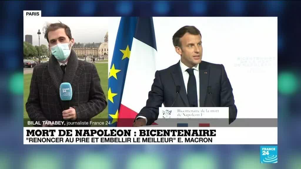 """Bicentenaire de la mort de Napoléon : """"Renoncer au pire et embellir le meilleur"""""""