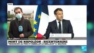 """2021-05-05 18:01 Bicentenaire de la mort de Napoléon : """"Renoncer au pire et embellir le meilleur"""""""