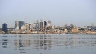 صورة جزئية للواندا عاصمة أنغولا عام 2012